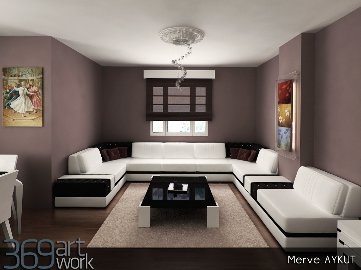I mimar 369artwork sayfa 2 for 2 1 salon dekorasyonu